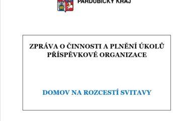 Zpráva o činnosti a plnění úkolů PO PK 2020