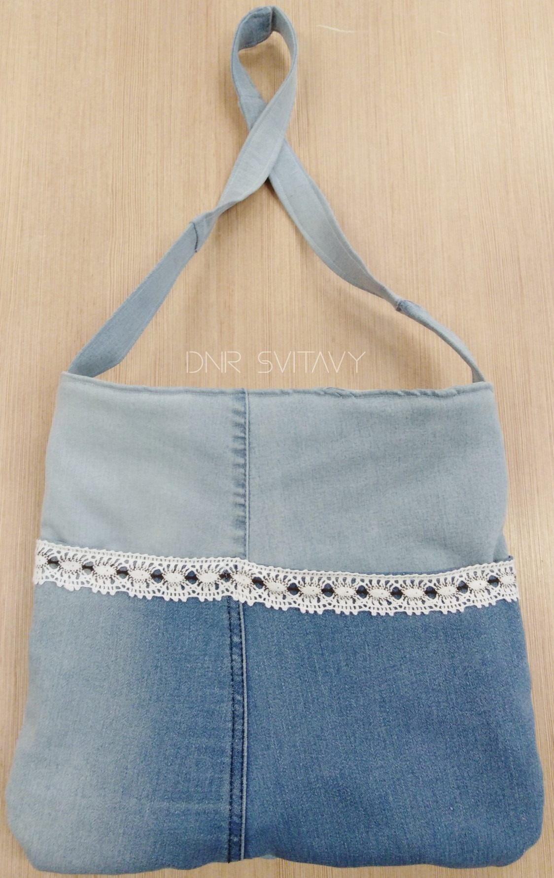 Látková taška přes rameno